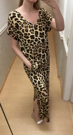 Vestido Longo Onçinha