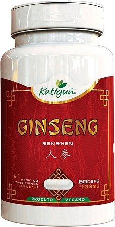 Ginseng Renshen (Panax) 400 mg 60 Capsulas Katigua