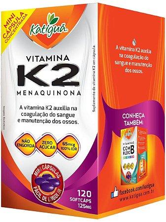 Vitamina K2 Menaquinona 120 Capsulas Minicapsulas Softgel Katigua