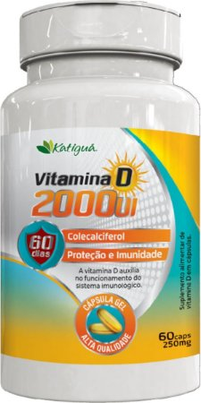 VITAMINA D 2000 UI 60 CAPSULAS KATIGUA