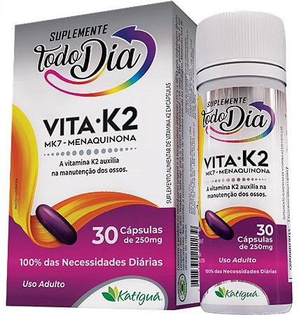 Vitamina K2 MK7 Menaquinona 30 Capsulas Katigua