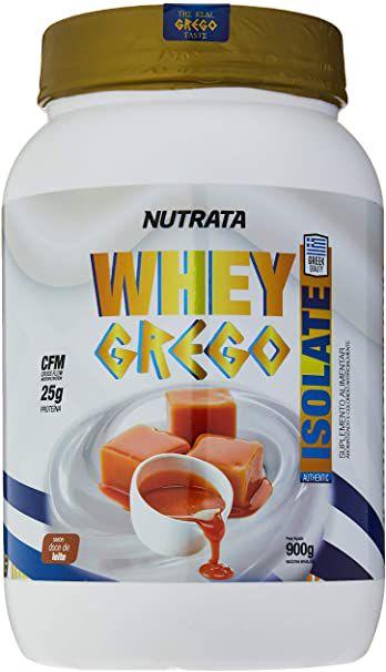 WHEY GREGO ISOLATE 900G NUTRATA