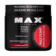 MAX PUMP MAX TITANIUM 240G