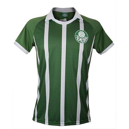 Polo Palmeiras Striped verde