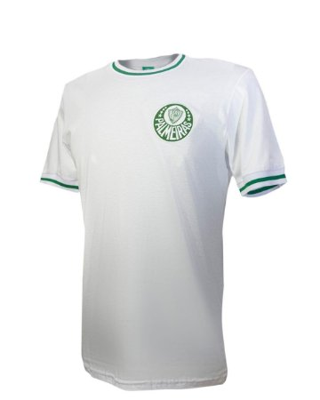 Camisa Palmeiras Vintage Eterna Academia Branca