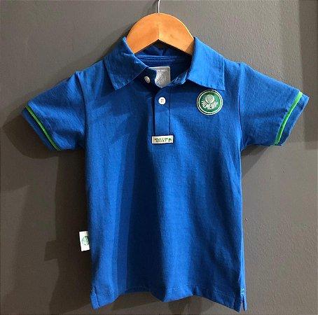 Camisa Polo Infantil Azul