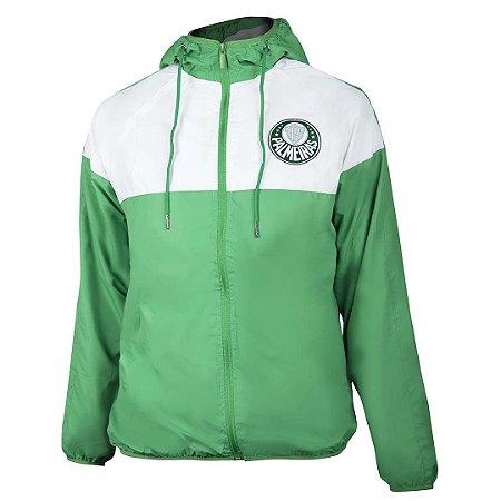 Jaqueta Corta vento Palmeiras - Verde e Branca