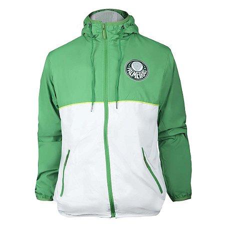 Jaqueta Corta Vento #MaiorCampeãodoBrasil verde