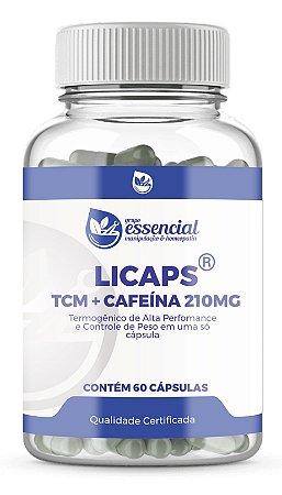 LICAPS - TCM + CAFEÍNA 210MG