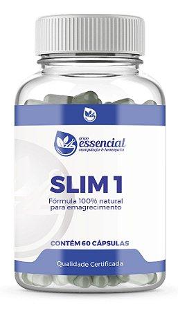 SLIM 1 - FÓRMULA PARA EMAGRECIMENTO - 60 cápsulas