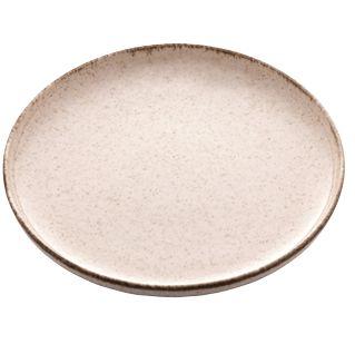 Prato Raso Reactive Canela Porcelana - 6un