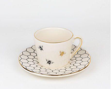 Xícara chá Colmeia