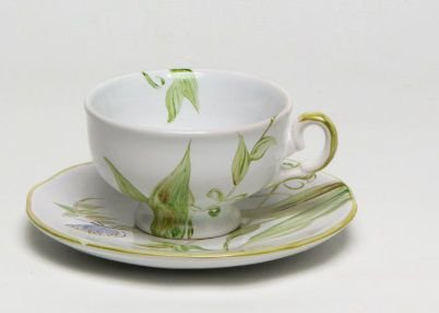 Xícara café Borboleta e Libelula