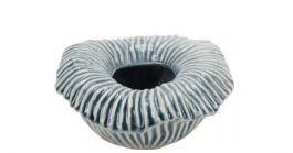 Centrinho de mesa cerâmica azul
