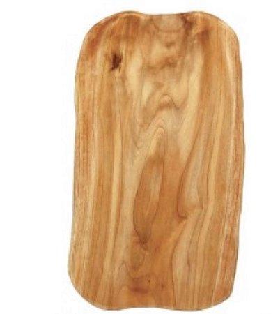 Tábua para servir em madeira natural