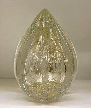 Pinha gold cristal pó de ouro 24k