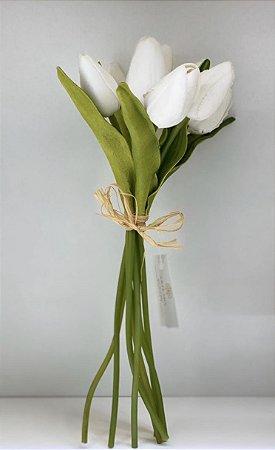 Ramalhete de tulipa toque real