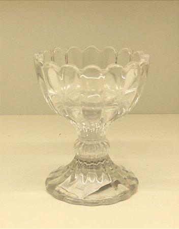 Porta geleia ou porta ovo em vidro império
