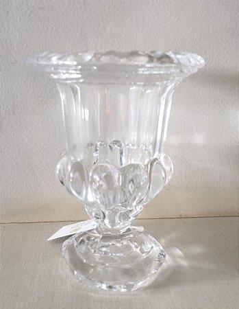 Vasinho taça de vidro