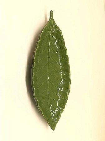 Travessa folha verde