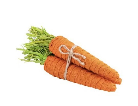 Cenouras decorativas