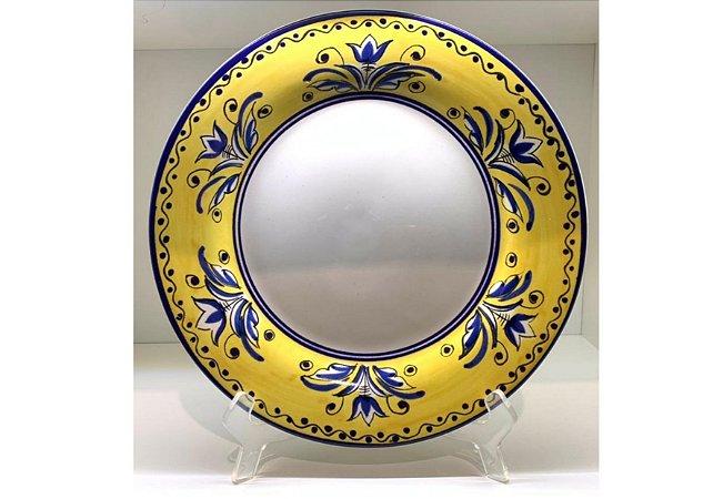 Jogo de Jantar em Cerâmica com Estampa Fiore set. c/6un