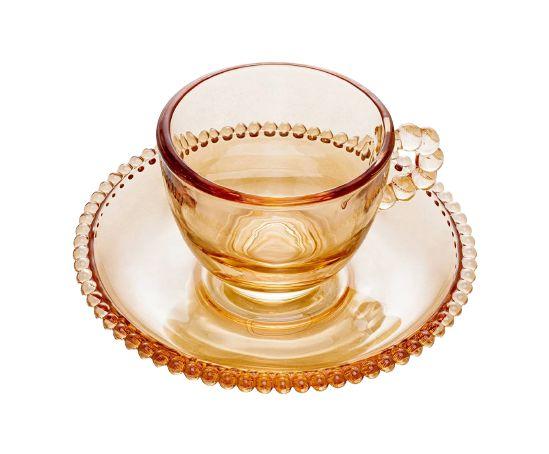 Conjunto de Xícaras Café Cristal com 4un