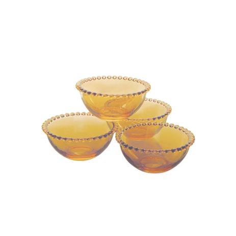 Bowl Pearl Ambar Cristal (Unitário)