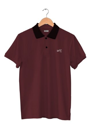 Camisa Polo Saint P Black Neck