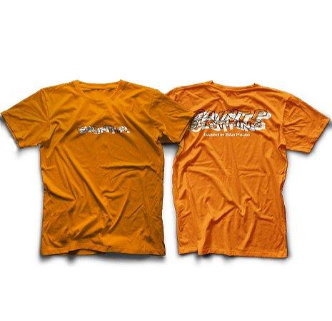 Camiseta Laranja Based in SP