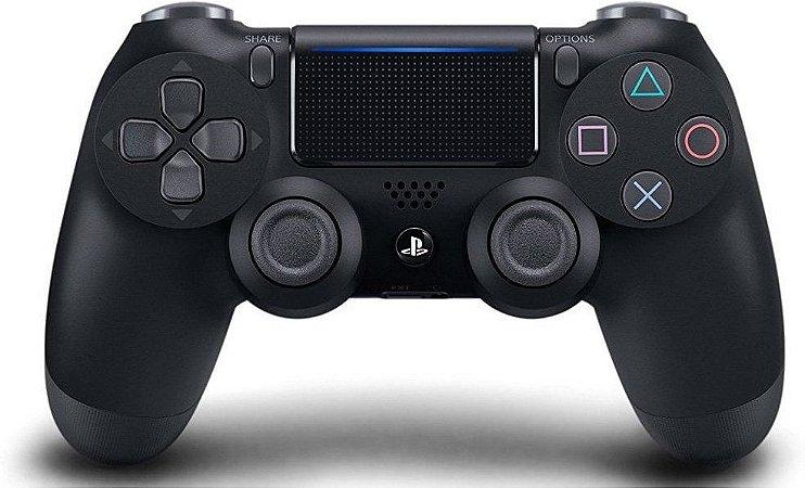 Controle Dualshock 4 (Preto - Versão 2) - PS4