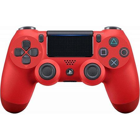 Controle Dualshock 4 (Vermelho - Versão 2) - PS4