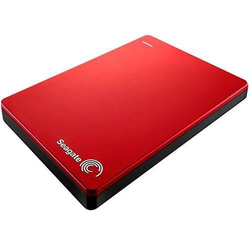 HD Externo Portátil Seagate Backup Plus 2TB Vermelho