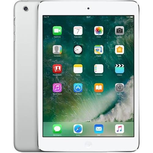 """iPad Mini 2 32GB Wi-Fi 7.9"""" Prata - Apple"""