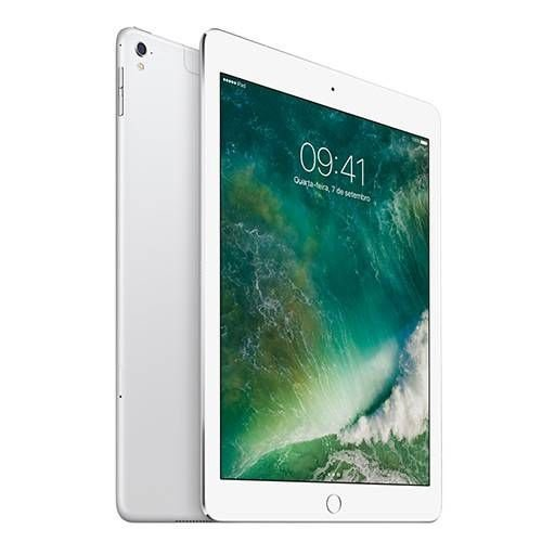 "iPad Pro Cellular 128GB Wi-Fi 4G Tela Retina 9,7"" Prata - Apple"