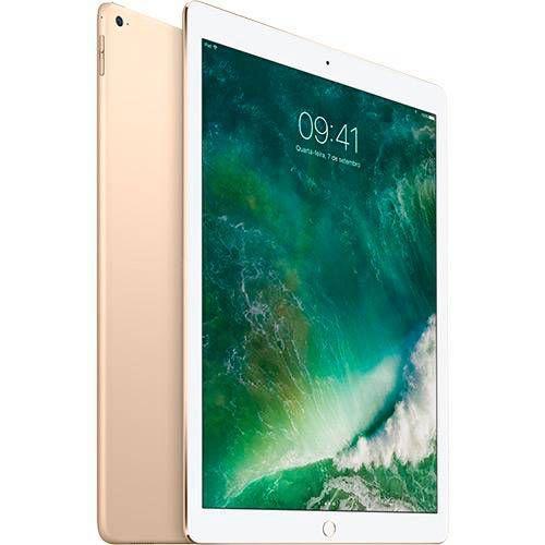 "iPad Pro Cellular 256GB Wi-Fi 4G Tela Retina 9,7"" Dourado - Apple"