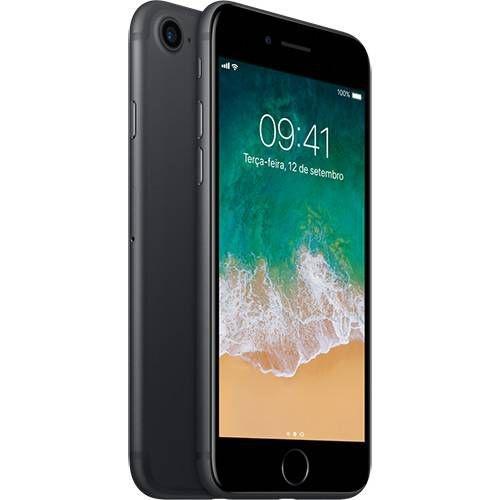 iPhone 7 32GB Preto Matte Desbloqueado IOS 10 Wi-fi + 4G Câmera 12MP - Apple
