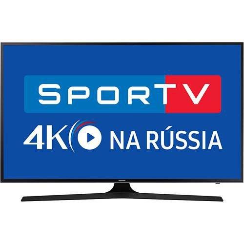 "Smart TV LED 75"" Samsung 75MU6100 UHD 4K HDR Premium com Conversor Digital 3 HDMI 2 USB 120Hz"