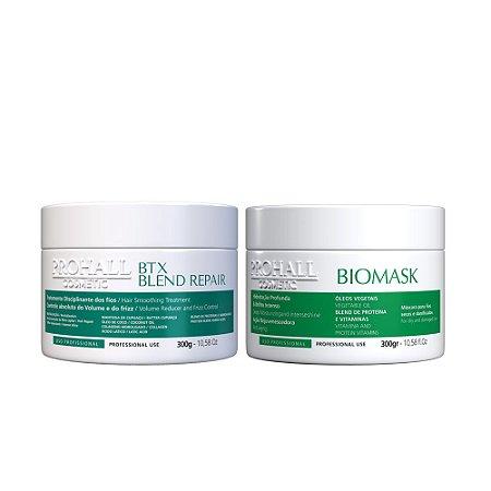 Prohall - Btx Blend Repair + Máscara Biomask (2x300g)
