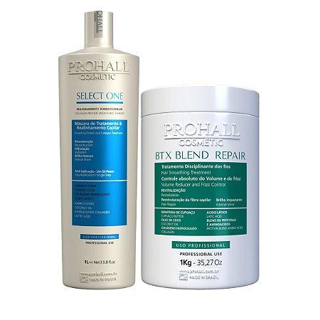 Prohall - Btx Blend Repair + Escova Select One (2x1000ml)