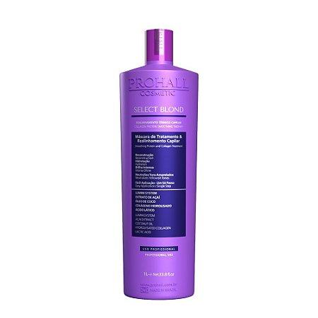 Prohall - Realinhamento Capilar Sem Formol Select Blond (1000ml)