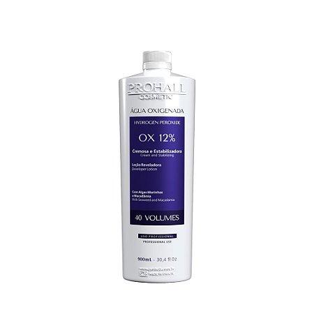 Prohall - Água oxigenada OX 40 vol. cream (900ml )