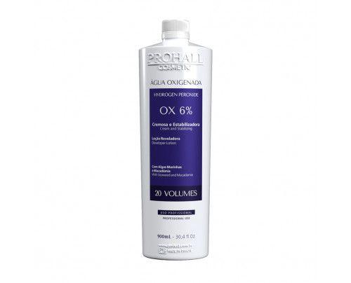 Prohall - Água oxigenada OX 20 vol. cream (900ml )