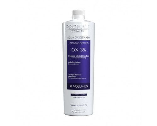 Prohall - Água oxigenada OX 10 vol. cream (900ml )