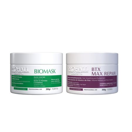 Prohall - Kit Máscara Biomask + Btx Max Repair (2X300g)