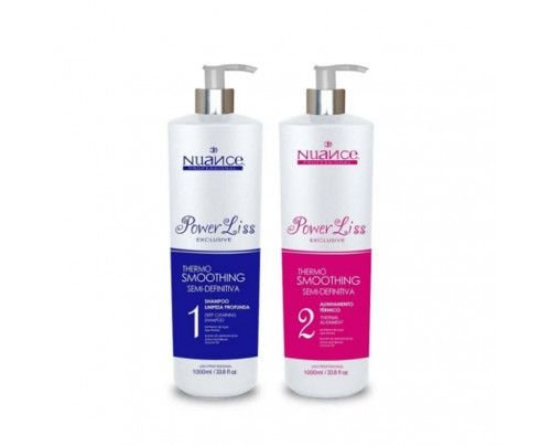Nuance Professional - Alinhamento Térmico Power Liss Exclusive (2X1000ml)