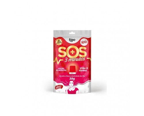 Tigo - Sachê SOS 3 Minutos Máscara Reconstrutora (30g)