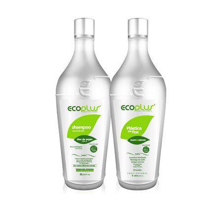 Ecoplus - Escova Plástica dos Fios (2x1000ml)