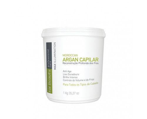 For Beauty - Btox Capilar Max Illumination Argan (1000g)