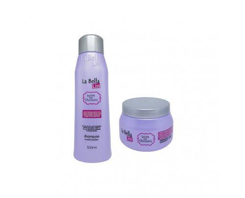 La Bella Liss - Loira no chuveiro  Shampoo + Máscara Matizadora (2x500g)